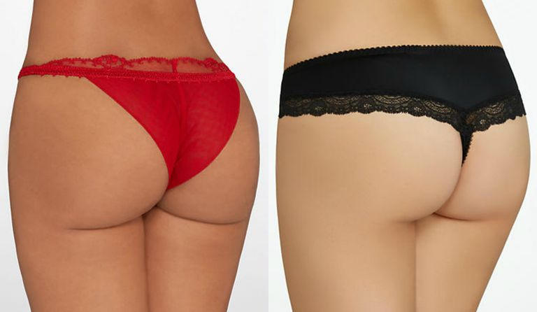 Brazilian Panty by La Perla and Thong by Fantasie