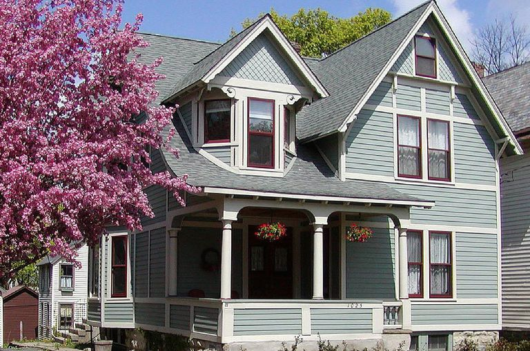 House paint color guide photos of proven combinations for House colour choice