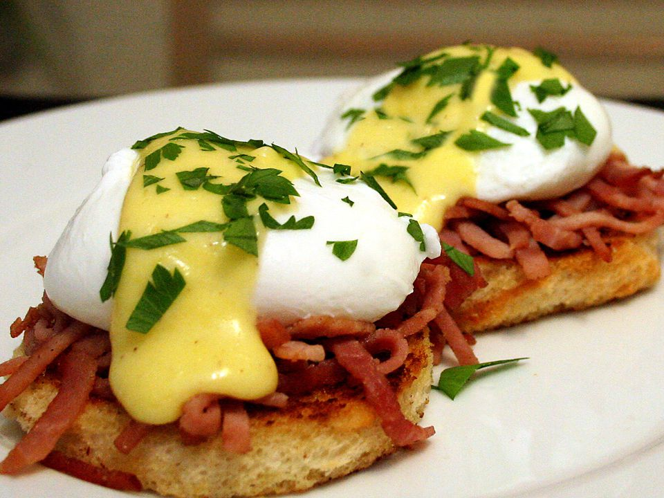 Improved Eggs Benedict