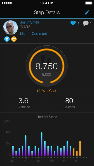 Garmin Connect Screenshot