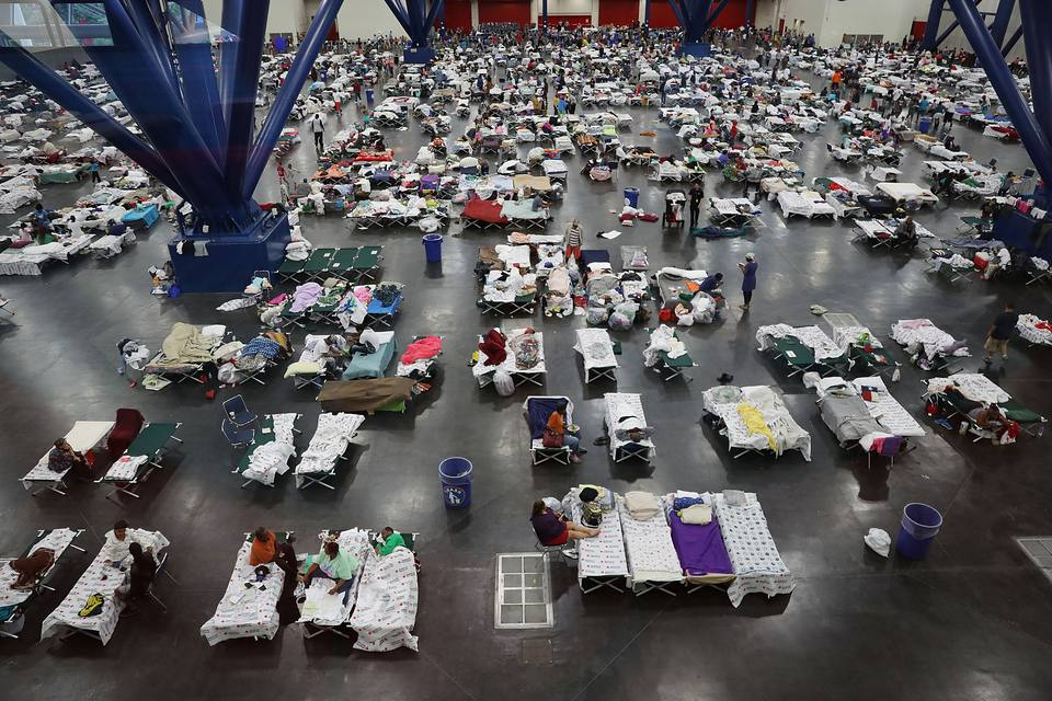 Give blood after Hurricane Harvey