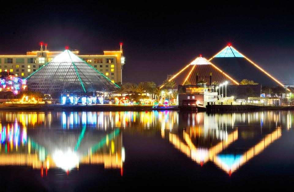 Moody Gardens Festival of Lights in Galveston, Texas
