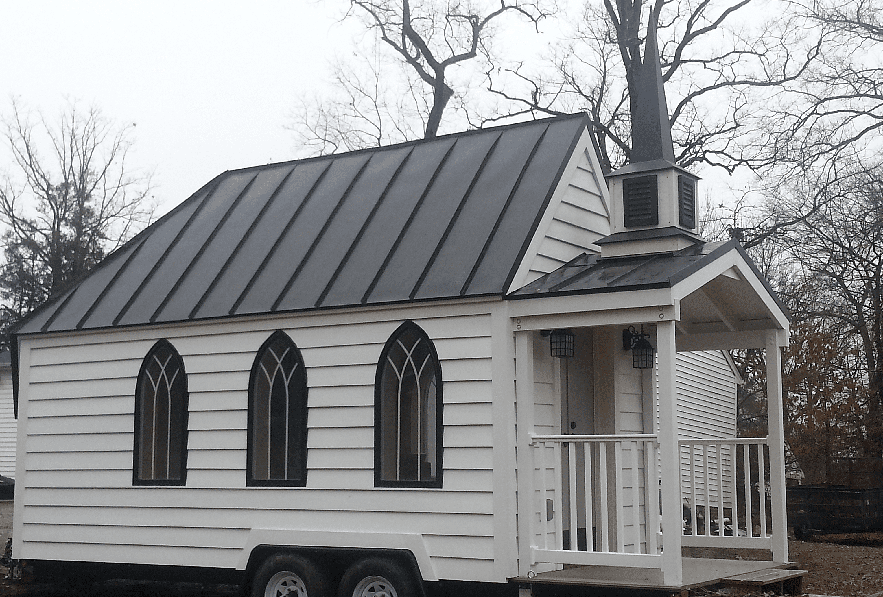 This Tiny House Chapel Is The Cutest Wedding Venue Ever