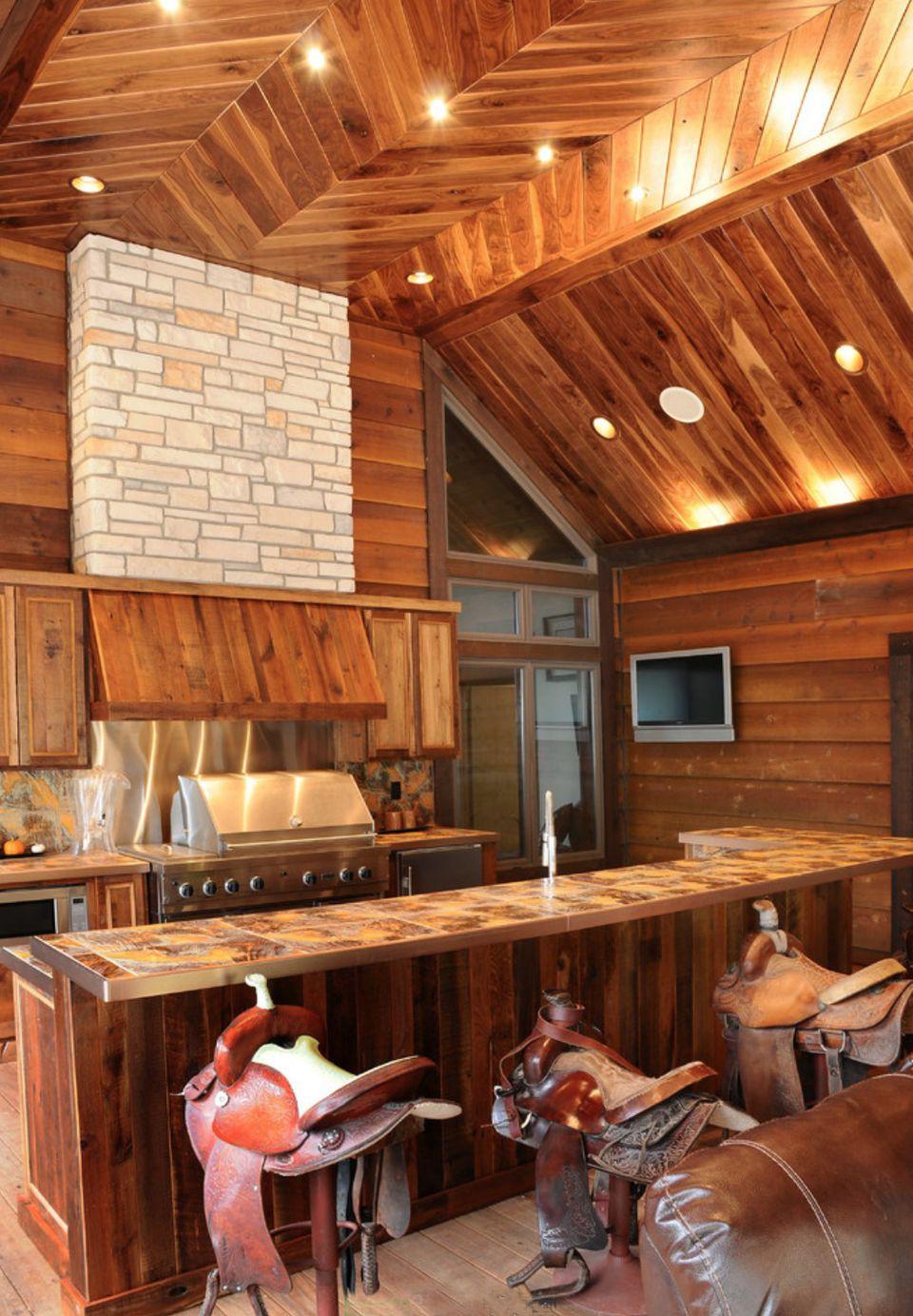 western outdoor kitchen