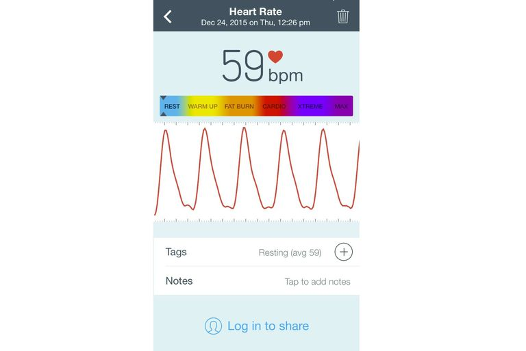 Azumio Instant Heart Rate App