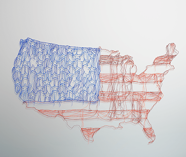 Maps can show the American settings of novels, plays, and poems taught in ELA classrooms