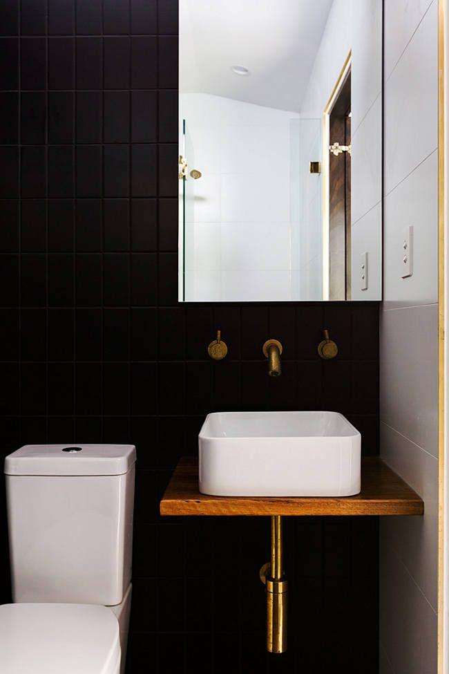 black bathroom. Black Bathroom