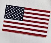 Shrink Plastic American Flag Pin