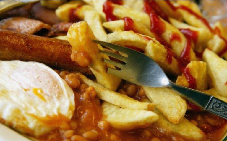 Alimentos altos en grasas y carbohidratos