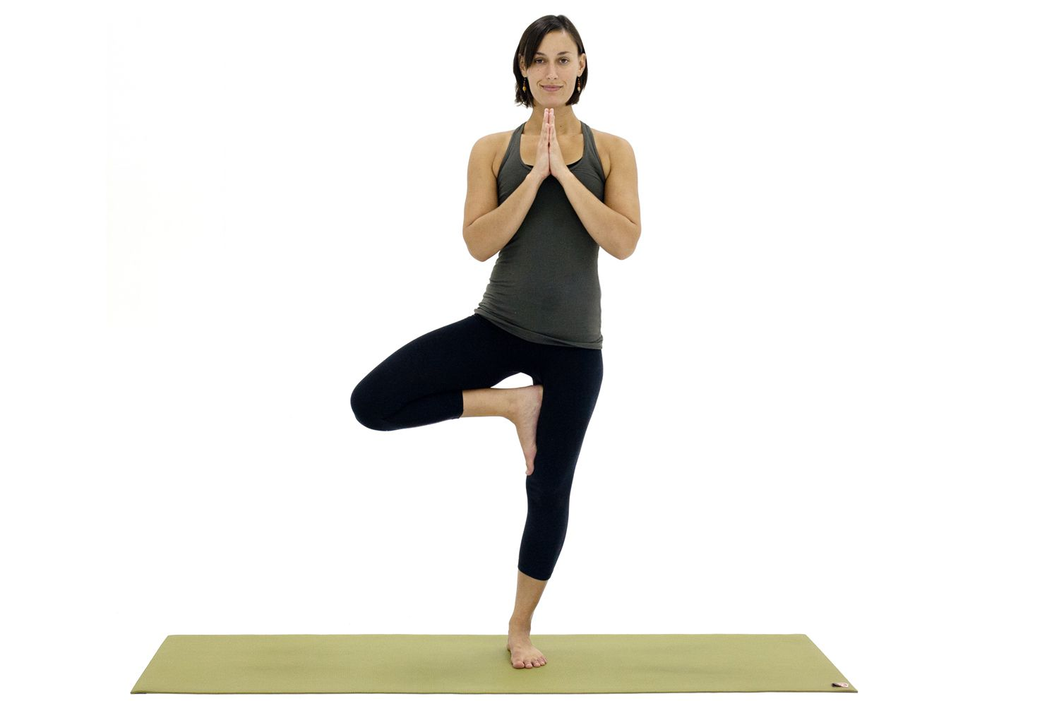how to do tree pose or vrksasana