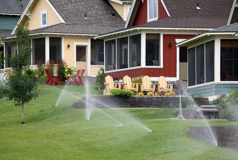 how to find a sprinkler valve