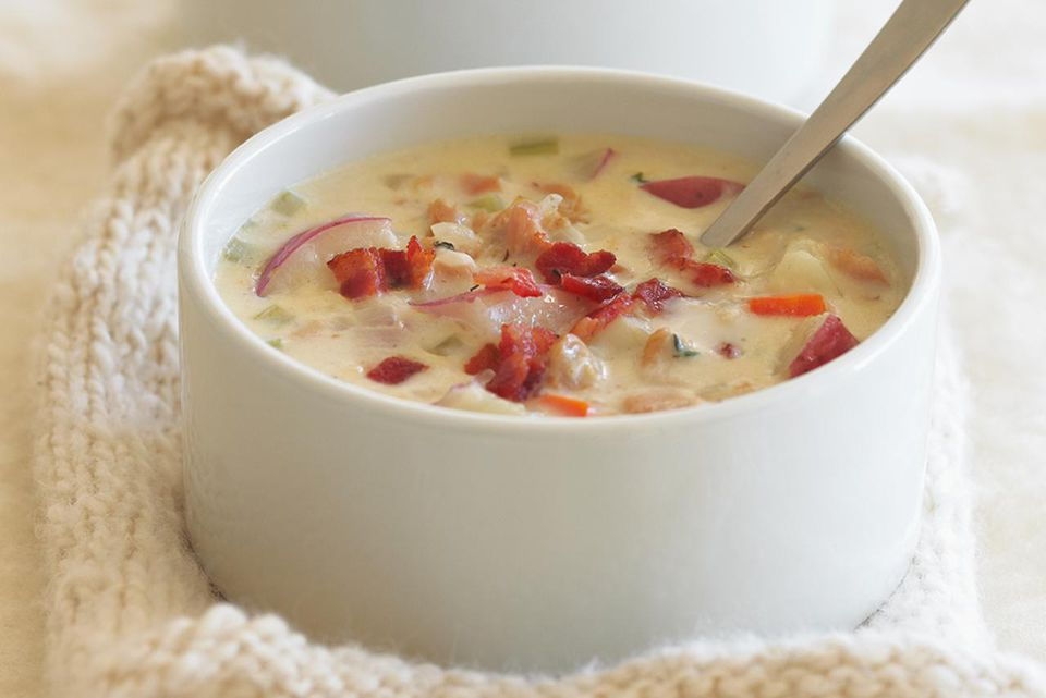 Healthy Chowder with Bacon