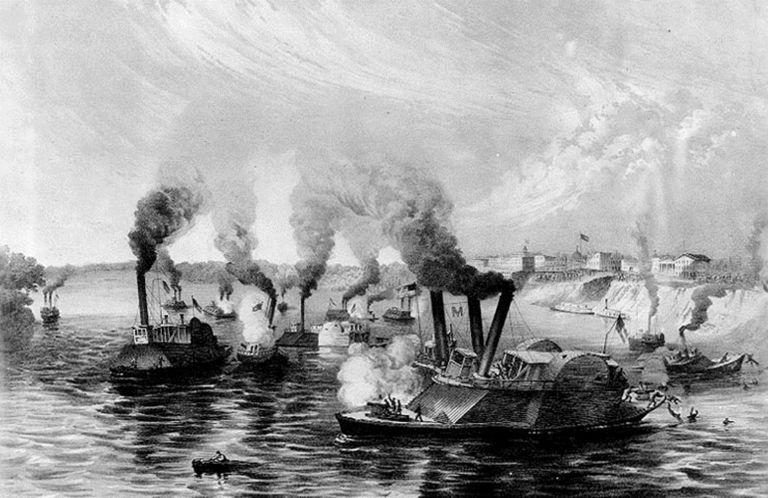 Naval Battle off Memphis