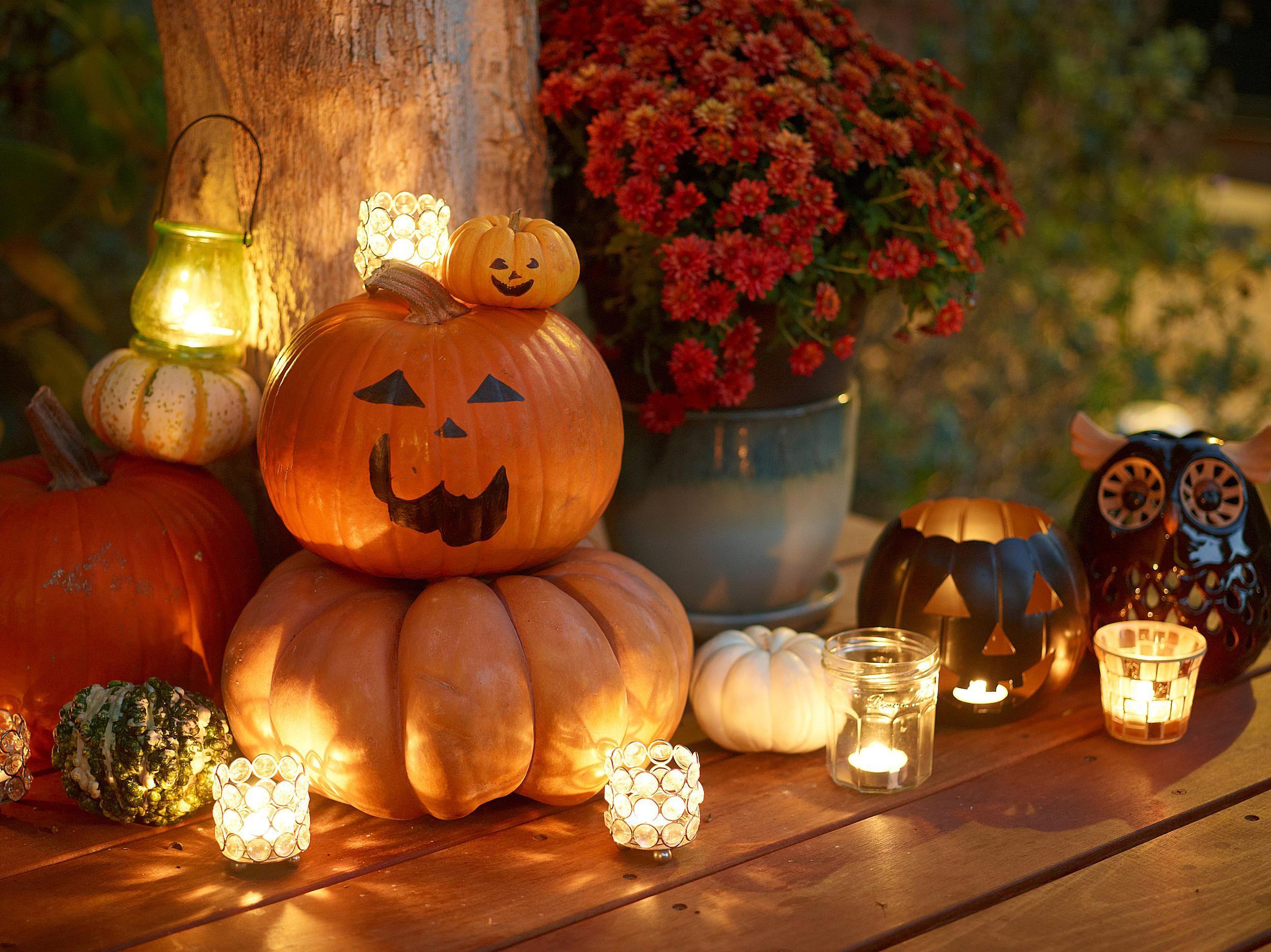 C mo celebrar halloween con ni os - Decoracion halloween 2017 ...