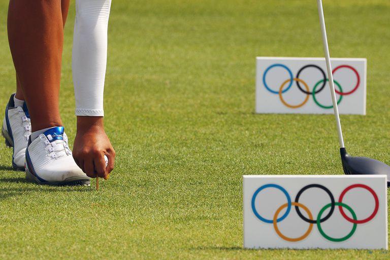 Olympics golf