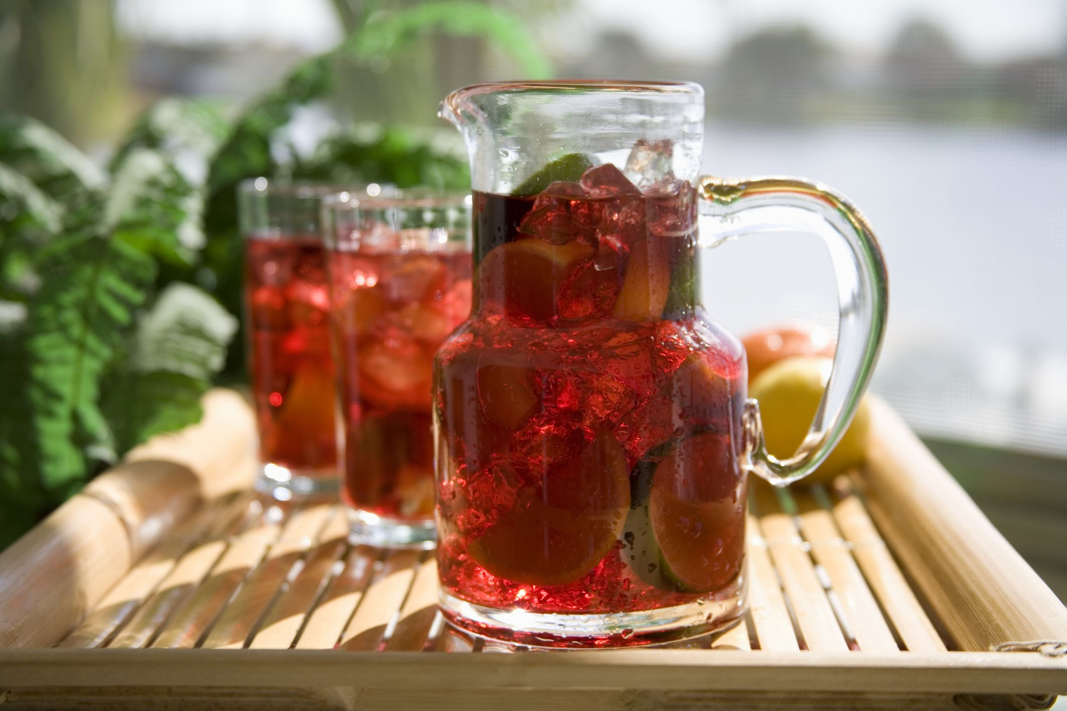Low sugar raspberry sangria an agave nectar recipe thecheapjerseys Image collections