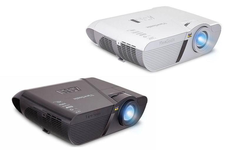 Viewsonic PJD7830HDL (top right) - PJD7835HD (bottom left) Lightstream DLP Video Projectors