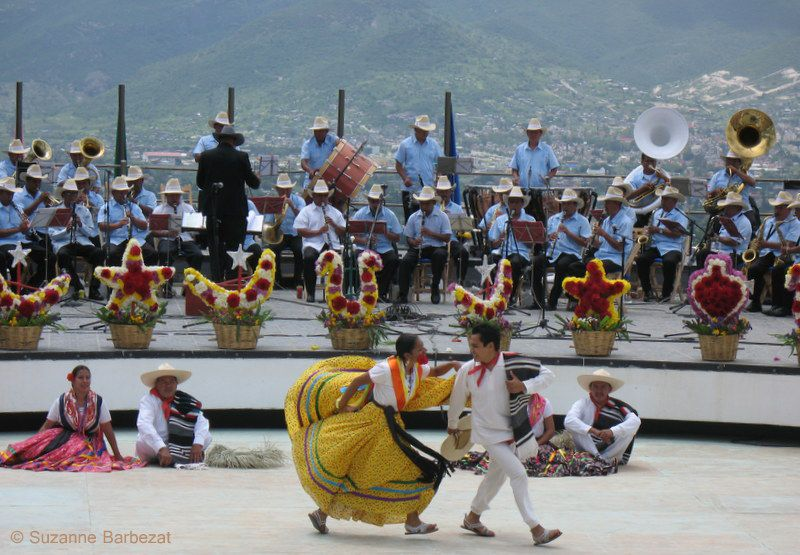 Guelaguetza Festival in July