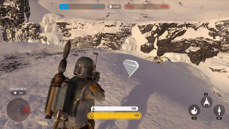 Collectibles on Hoth
