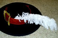 Feather Plume for Pirate Hat or Headband