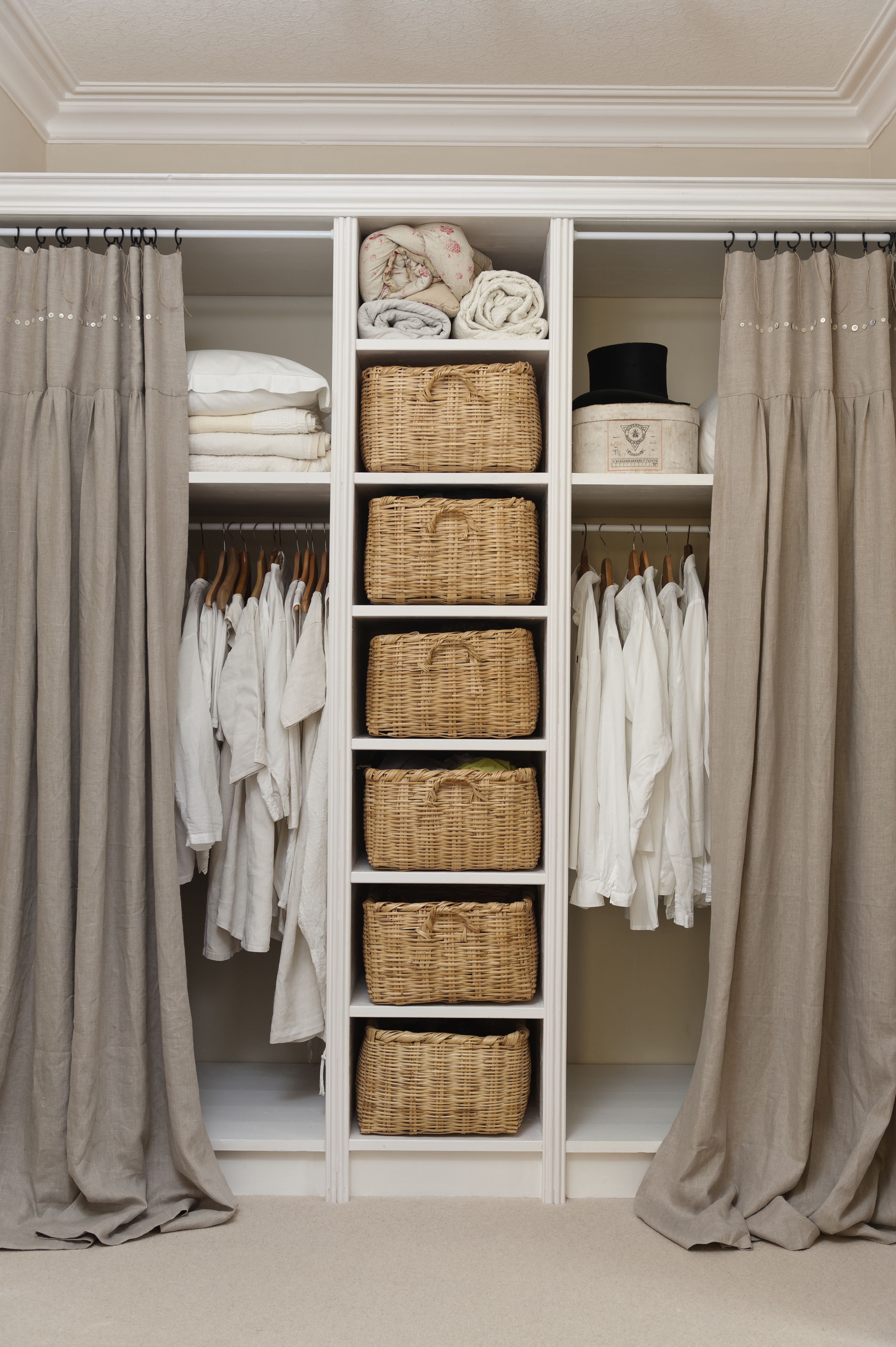 storage in design wall space doors hanging closet bedroom size with organizer linen full easy of ikea shelf for effective dresser wardrobe your small built ideas narrow cupboard openings open door wide