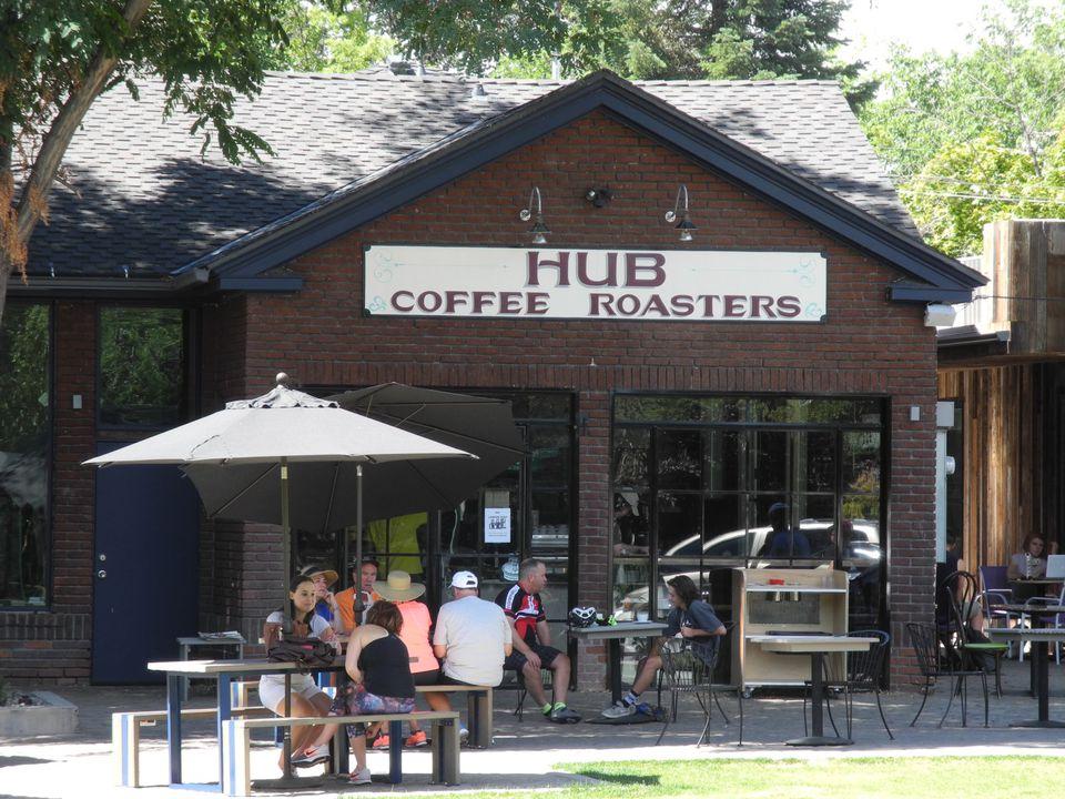 Hub Coffee Roasters in Reno, Nevada.