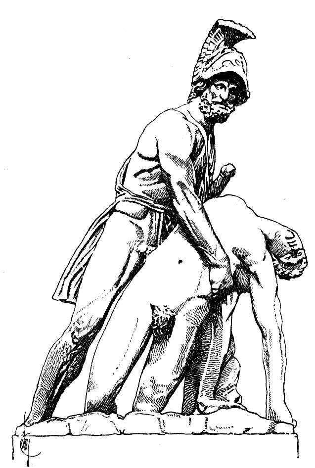 Menelaus Carrying Patroclus