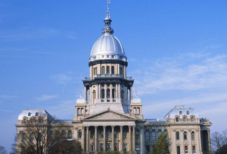 'State Capitol of Illinois, Springfield'