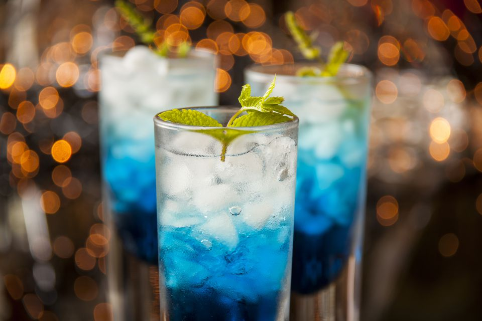 UV Liberty Cocktail with UV Blue Vodka