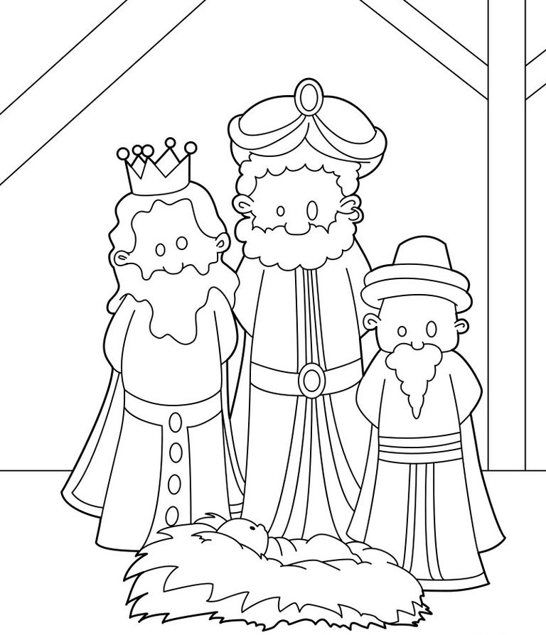 1 453 Free Printable Christmas Coloring Pages For Kids Wise Coloring Page