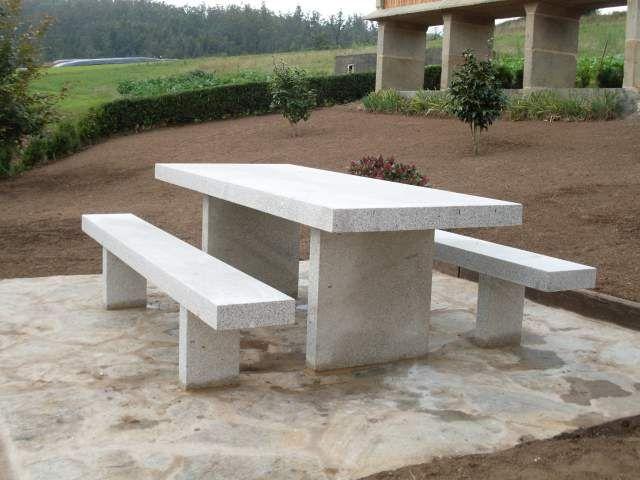 Muebles de exterior 7 materiales y tendencias - Muebles de piedra ...
