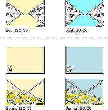 Sampling of Envelope Templates at Creative Park