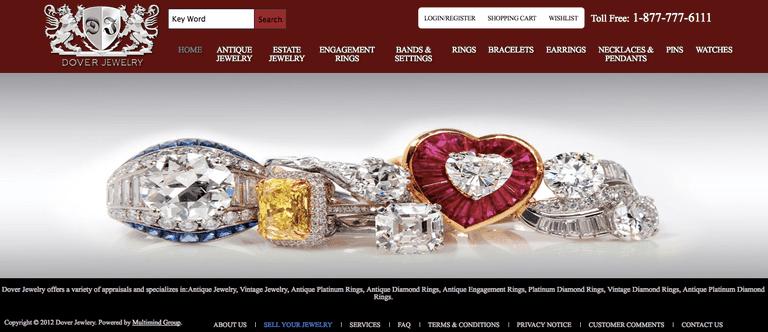 Páginas para comprar joyería en Internet