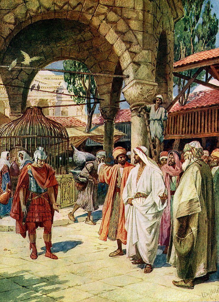 Jesus miracle healing centurion's servant