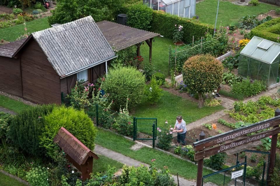 Kleingarten in Germany