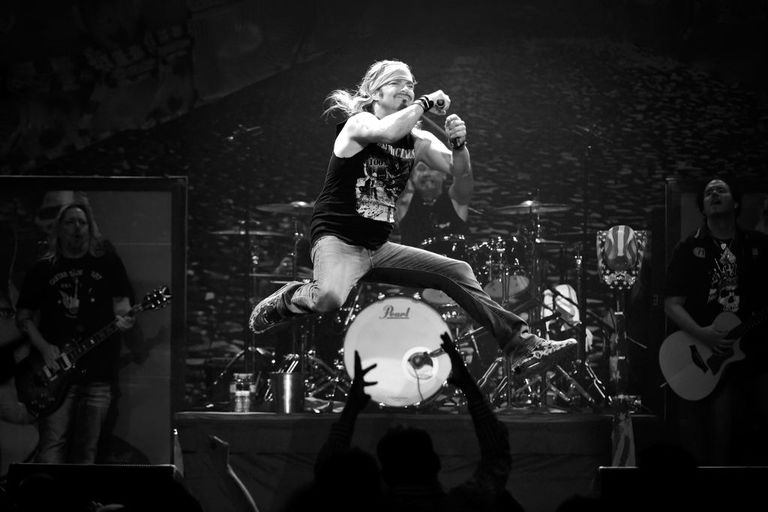 Bret Michaels In Concert At The Hard Rock Joint In Las Vegas