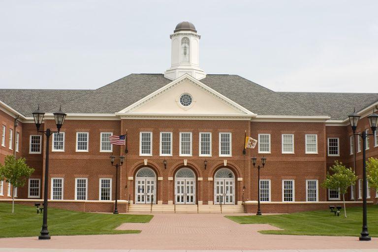 Private school building