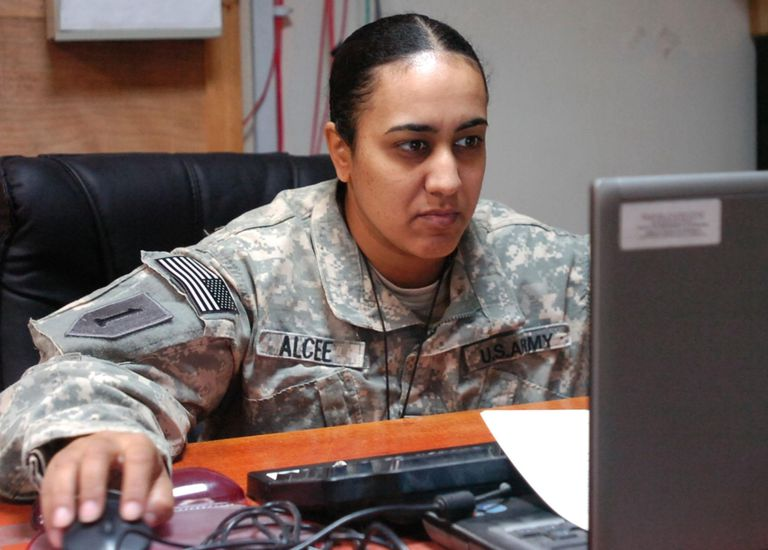 Human resource specialist assigned to 101st Brigade Support Battalion