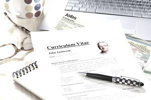 Senior job searcher's resume CV.