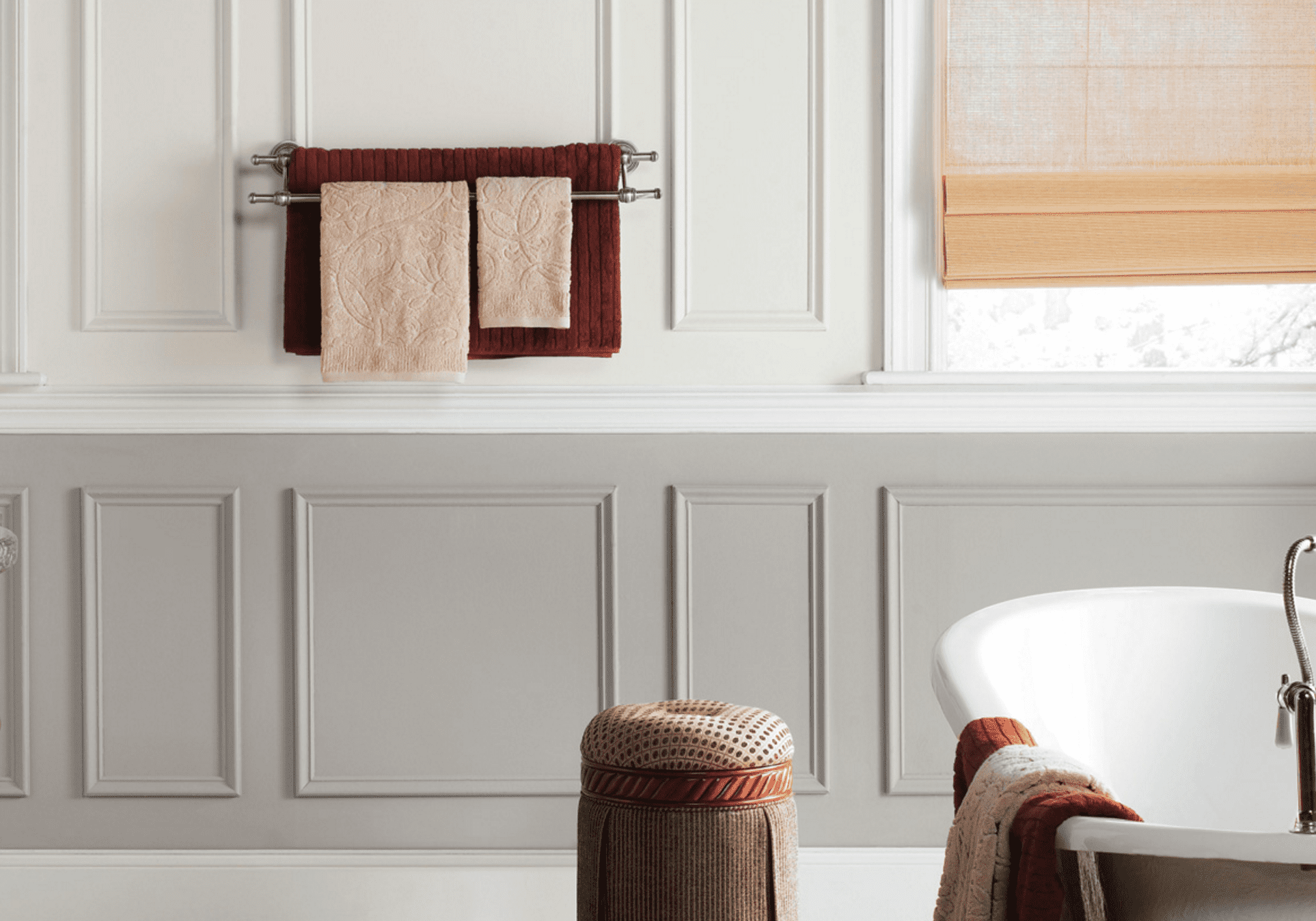 Secrets To Make Your Bathroom Look Expensive - Brown bathroom accessories sets for bathroom decor ideas