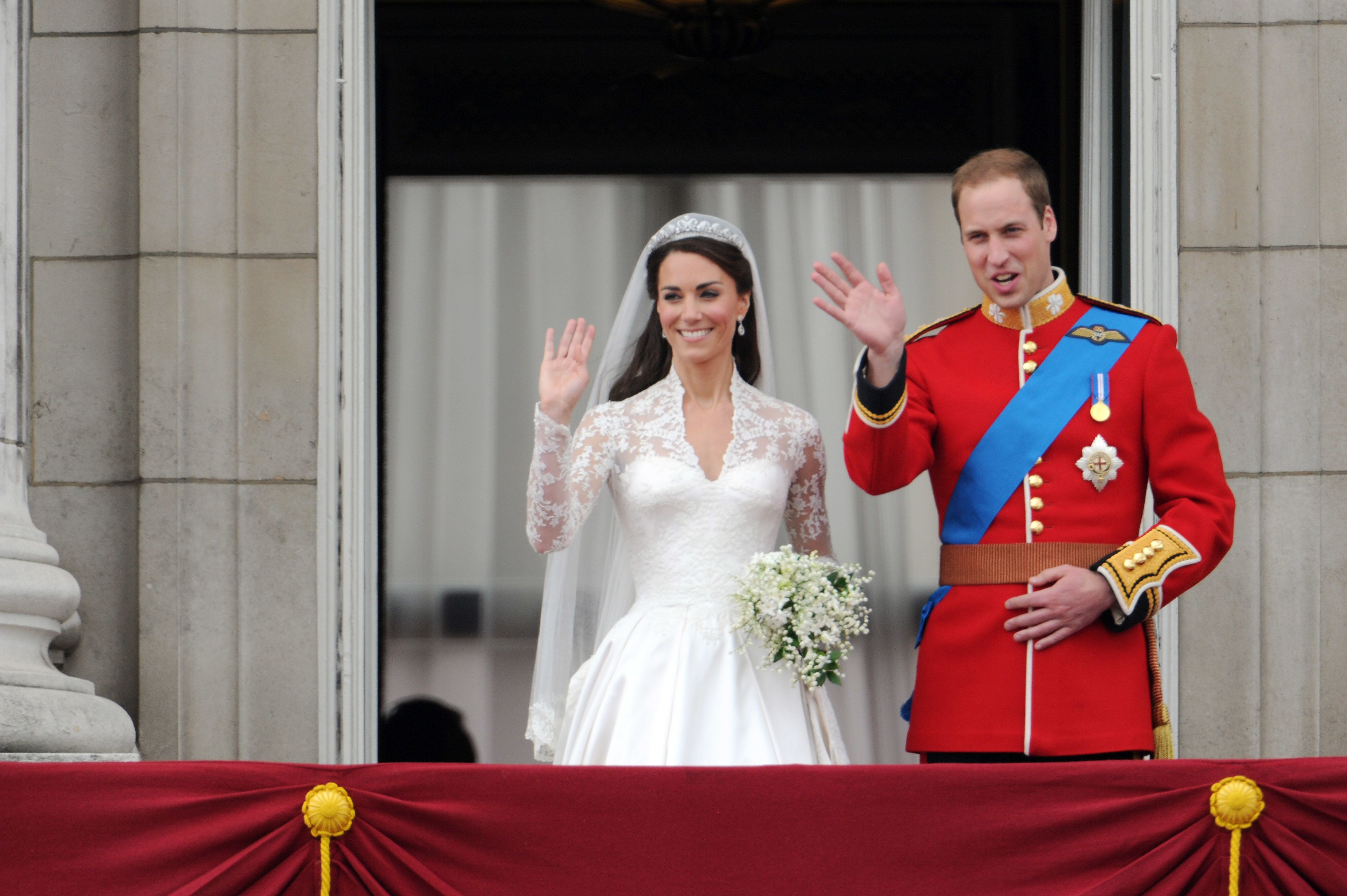 Prince William And Kate Middletons Wedding Photos