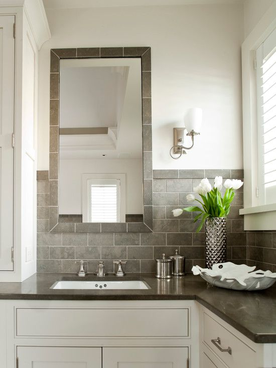 pictures of gray and white bathrooms. Classic and Affordable Gray White Bathroom 17 Bathrooms