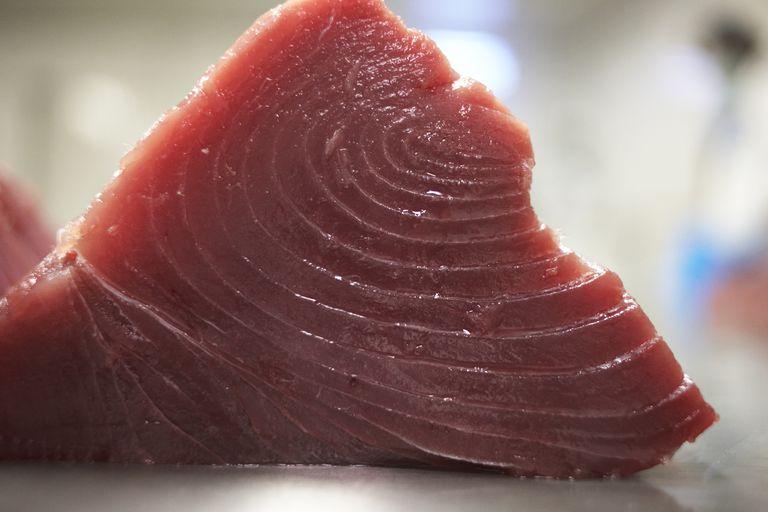 Maldives - Himmafushi Island - yellow fin tuna steak