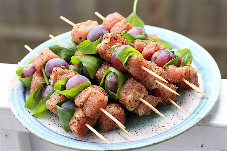 Sweet Spiced Pork Kabobs