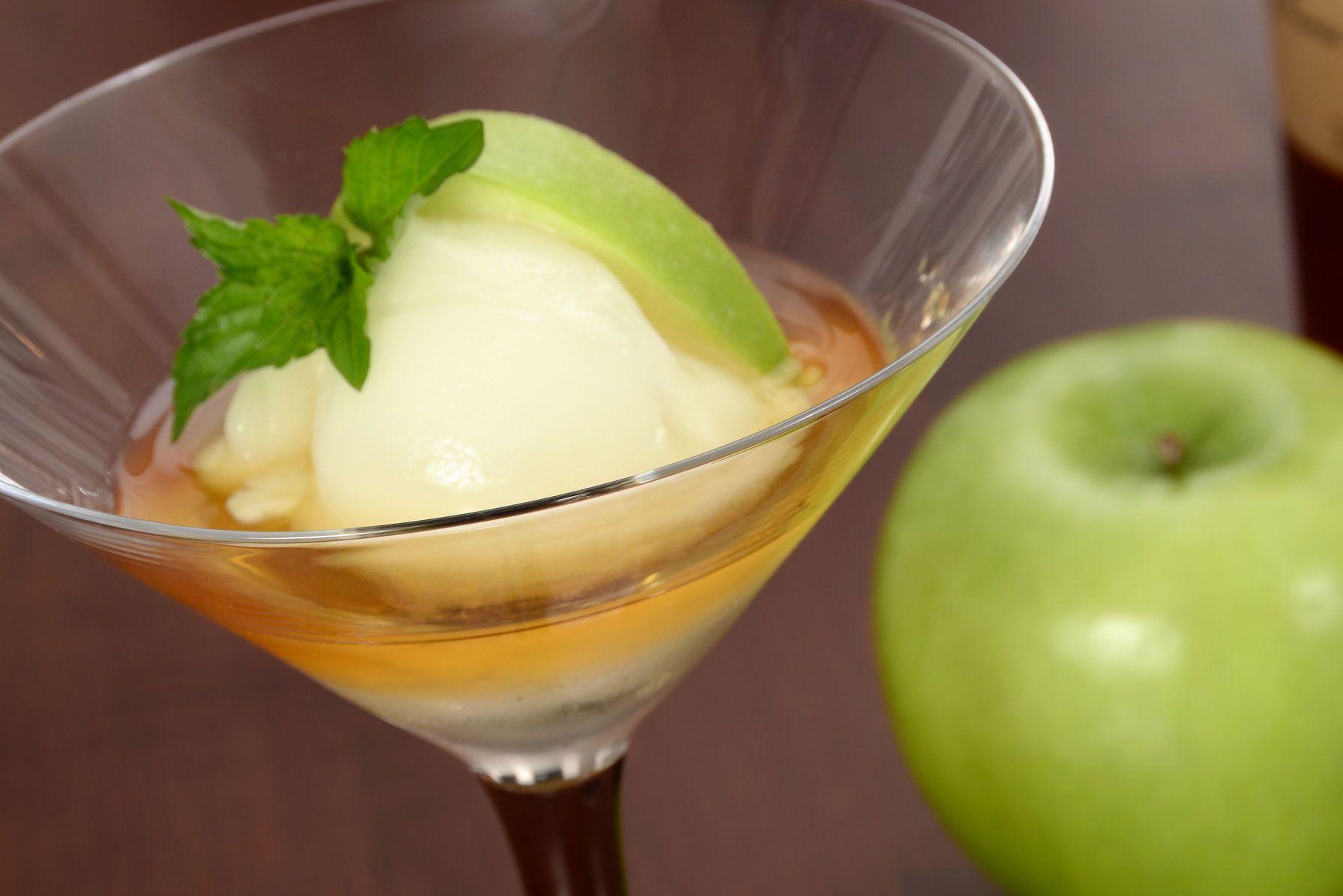 Apple And Calvados Sorbet Dessert Recipe