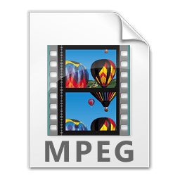 Screenshot of the MPEG file icon