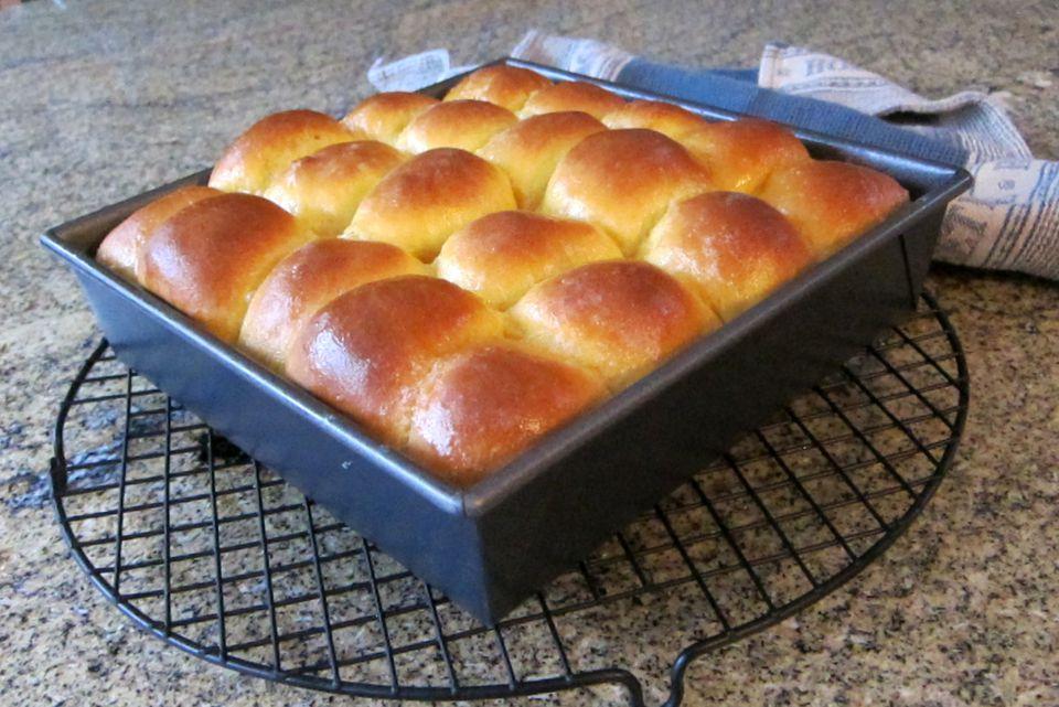sweet potato rolls, bread machine