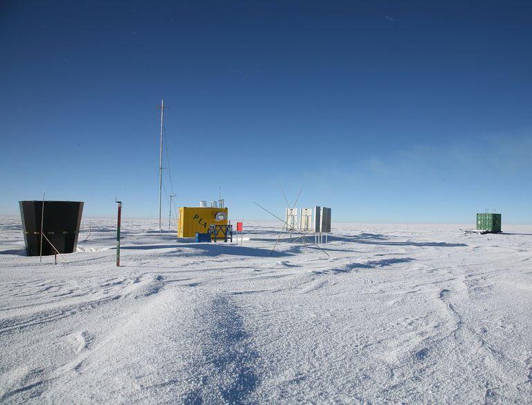 Dome A at Antarctica