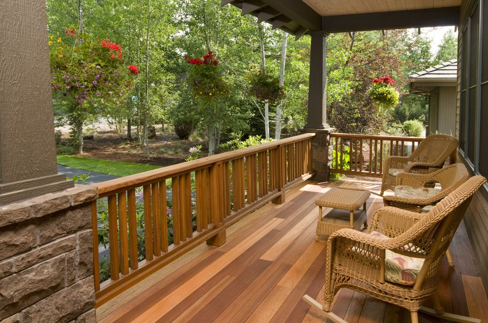 A comparison of wood decks and composite decks for Timber decking materials