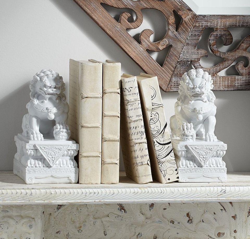 fu dog bookcases